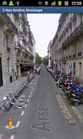 Screenshot of Paris by bike