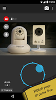 Screenshot of tinyCam Monitor PRO for IP Cam