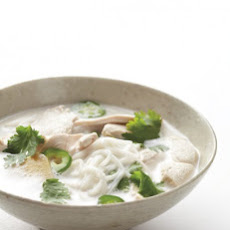 Gluten-Free Coconut-Lime Chicken Noodle Soup