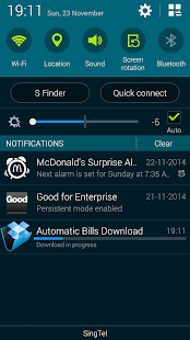 Automatic Bills Downloader - screenshot