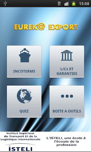 【免費商業App】EUREK@ EXPORT - Vers d'essai-APP點子