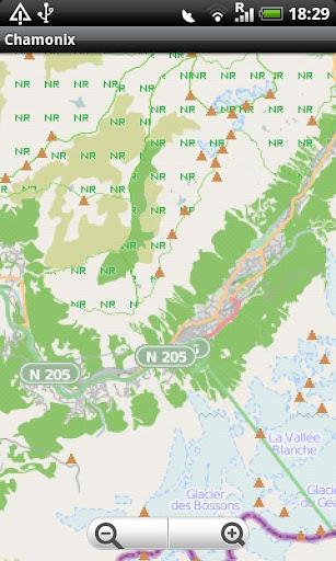 Chamonix Street Map