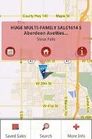 Screenshot of Sioux Falls Garage Sales