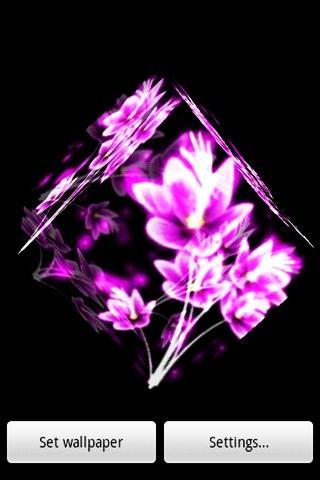 【免費休閒App】三維 flower6-APP點子