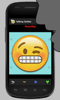 Screenshot of Talking Smiley