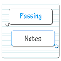 GSP Theme: Passing Notes Blue icon