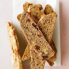 Whole-Wheat Walnut-Raisin Biscotti