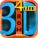 4 IN A 3D ROW LITE icon