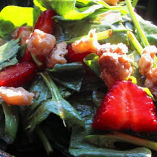 Spinach/Strawberry Salad