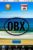 Screenshot of OBXEventsApp