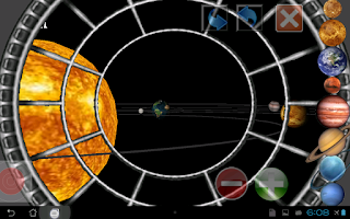 Screenshot of 3D Planets