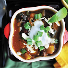 Smoky Chipotle Vegetarian Chili Recipe