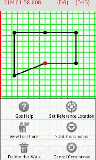 Walkers Mapped Gps