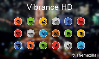 Screenshot of Vibrance HD Apex Nova Holo Adw