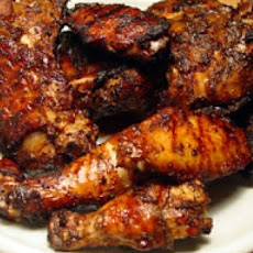 Barbecued Fried Wings