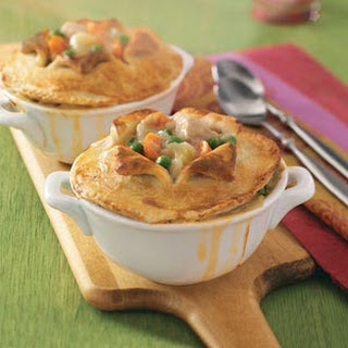 Makeover Chicken Potpies