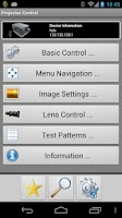 Screenshot of Barco Projector Control