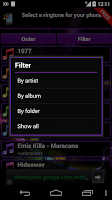 Screenshot of Ringtone Manager Pro FREE