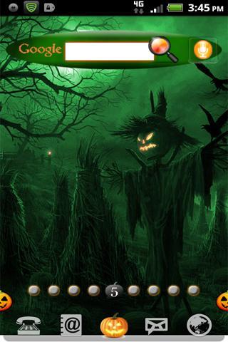 Halloween Pumpkin Green