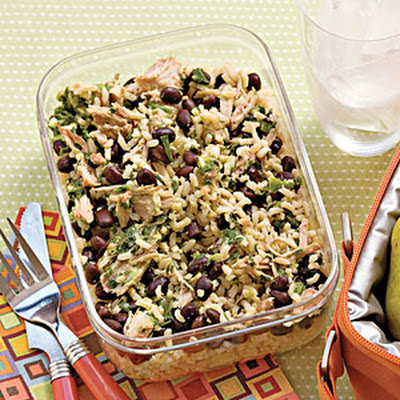 Pork-and-Black Bean Power Lunch
