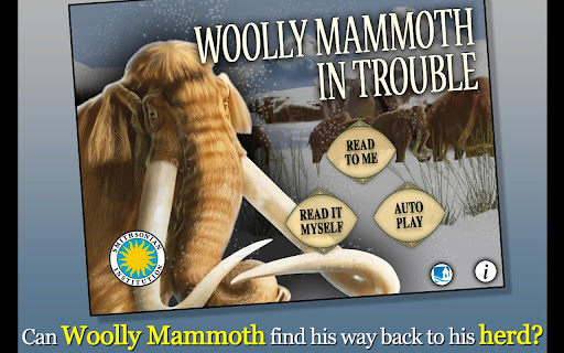 Woolly Mammoth In Trouble