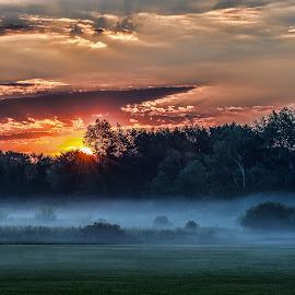 by Bennie Thornton - Landscapes Sunsets & Sunrises