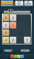 Screenshot of 2048 Mania