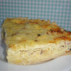 Ham and Wild Rice Quiche