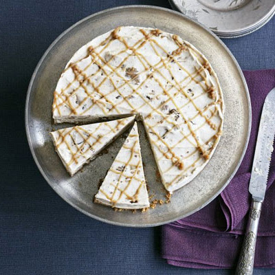 Iced Chestnut Ripple Cheesecake