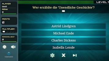 Screenshot of Quisr   1-2 Player Quiz