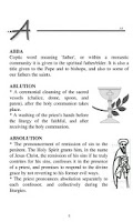 Screenshot of Dictionary of Church Terms