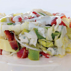 Iceberg, Tomato, Avocado, Bacon, and Blue Cheese