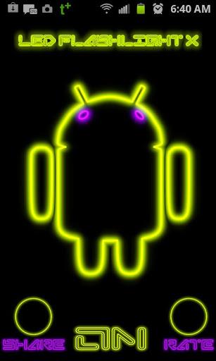 【免費工具App】LED手電筒X-APP點子