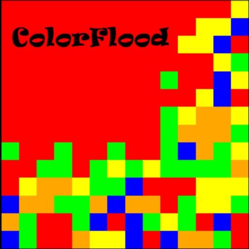 ColorFlood LOGO-APP點子