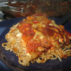 Vegetable Spaghetti Bake