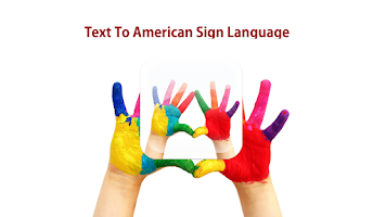 Screenshot of Text to Sign Language