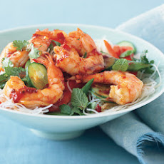 Asian Noodle Salad with Shrimp