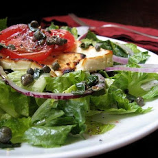 Broiled Feta Cheese With Capers