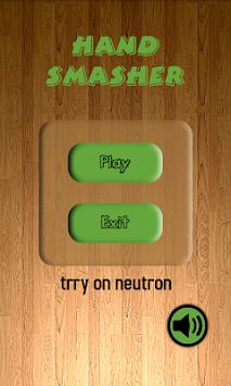 Hand Smasher apk screenshot