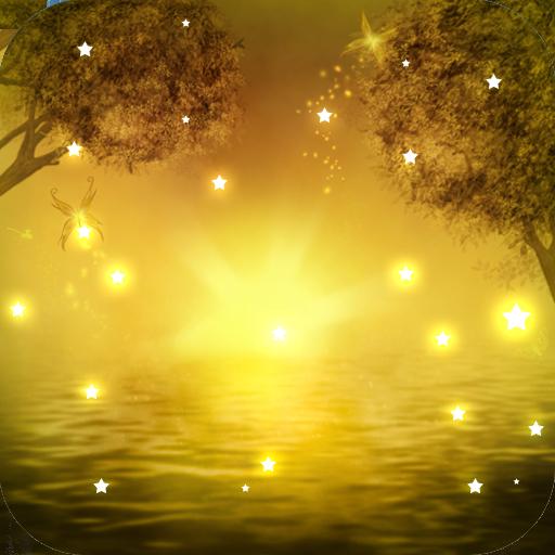 星光闪烁梦幻动态壁纸L 個人化 App LOGO-APP試玩