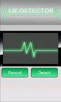 Screenshot of Lie Detector FAKE