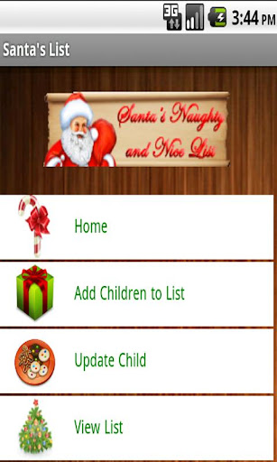 Santa's Naughty and Nice List