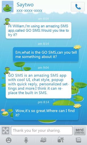 GO短信青蛙主题