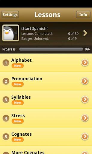 iStart Spanish Android