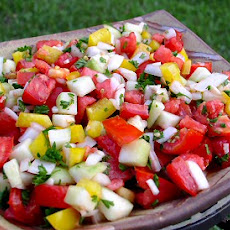 Ezme Salatasi (Turkish Tomato Salad)