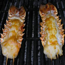 Orange-Scented Grilled Lobster Tails