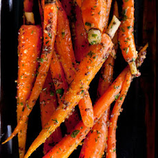 Roasted Baby Carrots with Herbed Mustard Butter Recipe