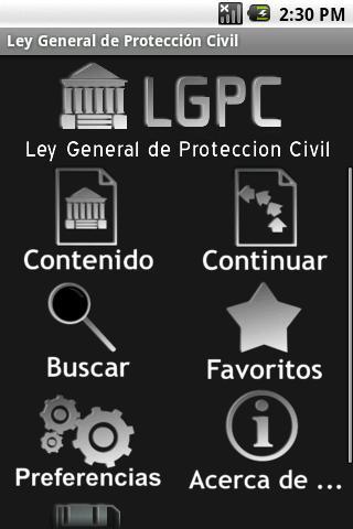 Ley General de Protección Civi