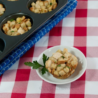 Chicken and Stuffing Muffins
