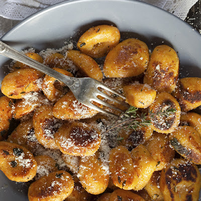 Potato Gnocchi with Shaved Truffles
